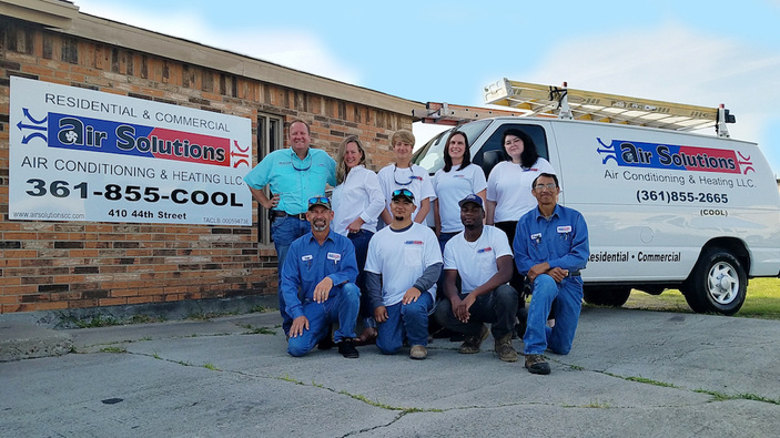 Air Solutions keeps Corpus Christi cool