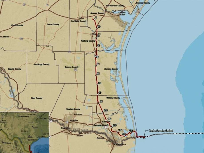 Corpus Christi Pipeline Biggest Between 2 Countries