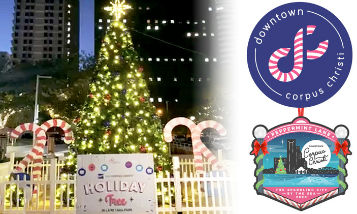 Christmas has Arrived in Downtown Corpus Christi