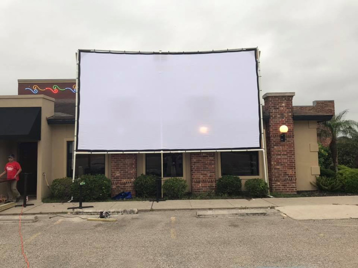 Peoples Restaurant Corpus Christi Opens Drive-in Movie