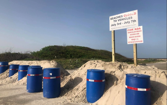 Beach Closure Rules Through July