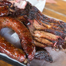 Barbecue for Harvey victims