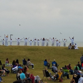 easter sunrise passion play corpus christi