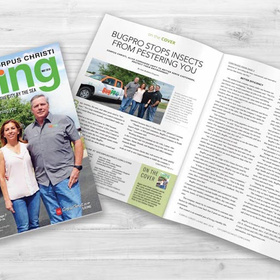 Corpus Christi Living cover May 2018