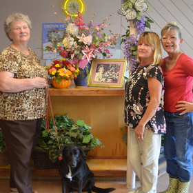 TUBBS OF FLOWERS IN CORPUS CHRISTI ABLOOM AFTER 72 YEARS