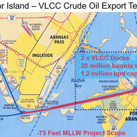 Port Corpus Christi plans major oil export terminal on Harbor Island