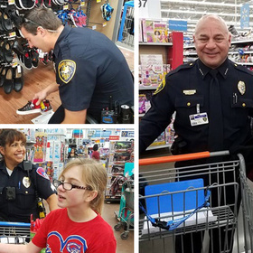 Shop With a Cop Running Short of Money Corpus Christi