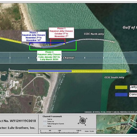 Port Aransas jetty repairs begin