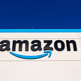 Amazon building delivery facility in Robstown, Texas