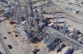 New Robstown Fractionator Gas Plant Fired Up