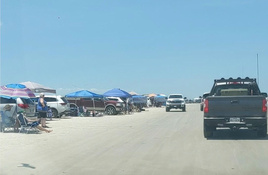 Corpus Christi Beaches Closed to Cars for Holiday