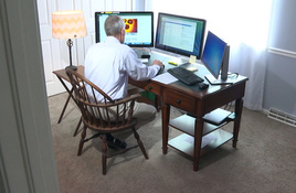 Nueces County employees work from home