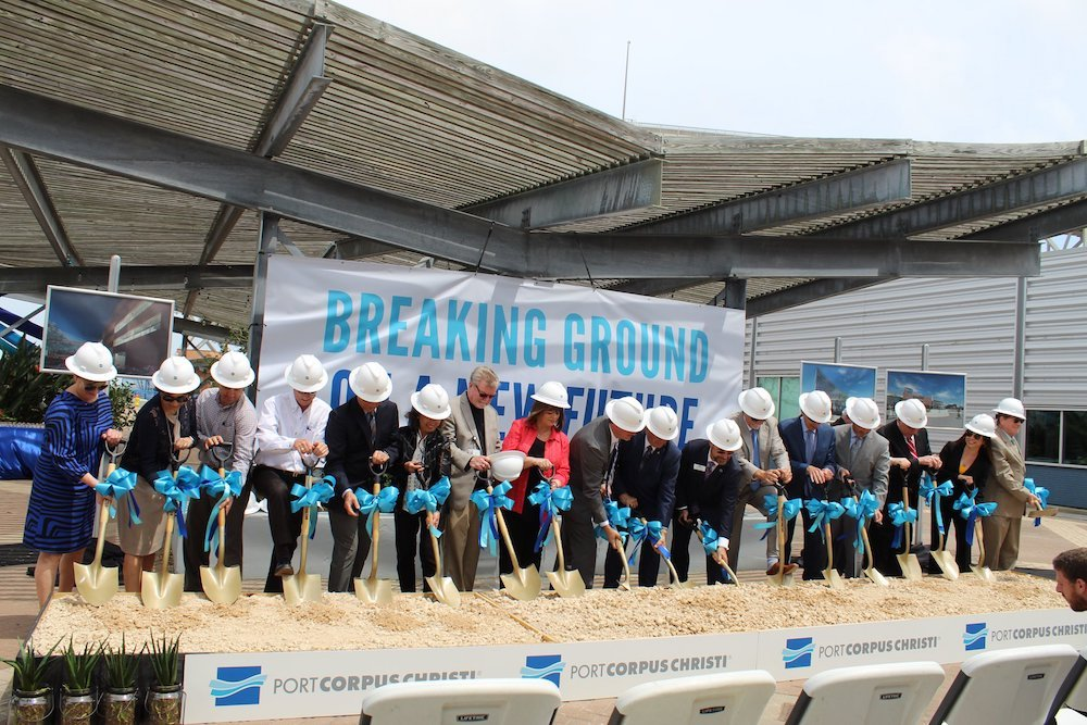 Port Corpus Christi Breaks Ground on New HQ