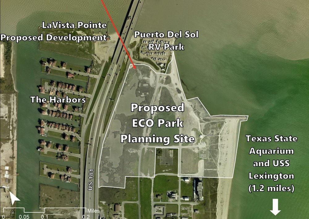 Workshops to Plan North Beach Eco Park in Corpus Christi