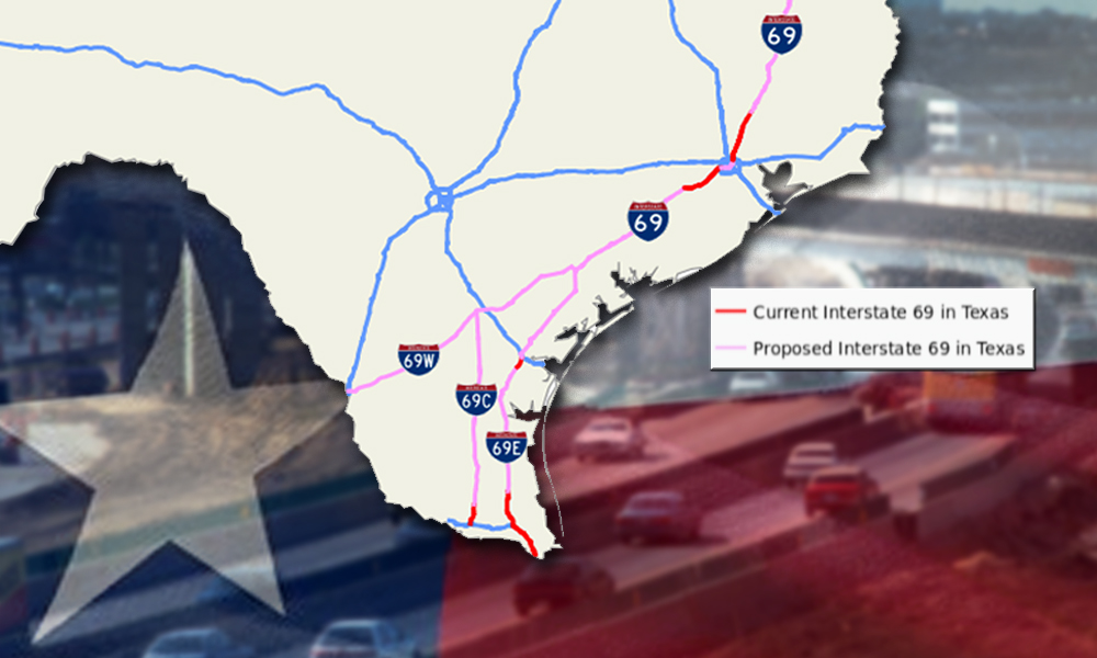 Interstate 69 Texas Map I 69 funds sought to complete highway